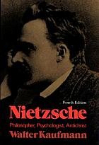 Nietzsche, philosopher, psychologist, antichrist