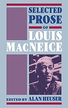 Selected prose of Louis MacNeice
