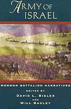 Army of Israel : Mormon Battalion narratives