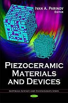 Piezoceramic materials and devices