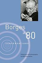 Borges at eighty : conversations