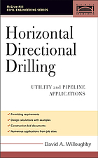 Horizontal directional drilling : utility and pipeline applications