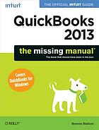 QuickBooks 2013 : the missing manual