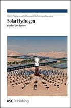 Solar hydrogen : fuel of the future