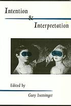 Intention and interpretation