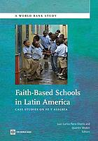 Faith-based schools in Latin America : case studies on Fe y Alegría