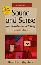 Perrine's sound and sense : an introduction to poetry