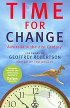 Time for change : Australia in the 21st century
