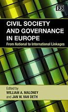 Civil society and governance in Europe : from national to international linkages