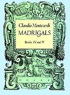 Madrigals : books IV and V