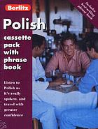 Berlitz Polish cassette pack with phrase book. Language Courses (Holiday).