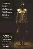 The best horror of the year. Volume eight
