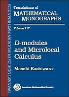 D-modules and microlocal calculus
