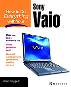 How to do everything with your Sony Vaio