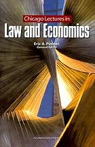 Chicago lectures in law and economics