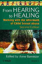 From Hearing to Healing: Working with the Aftermath of Child Sexual Abuse cover image