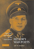 Hitler's war poets : literature and politics in the Third Reich