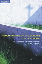 The seven sayings of the saviour on the cross.
