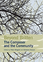 Beyond Britten : the composer and the community