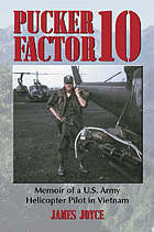 Pucker factor 10 : memoir of a U.S. Army helicopter pilot in Vietnam