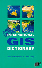 International GIS dictionary