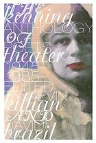 The Kenning anthology of poets theater 1945-1985