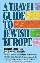 A travel guide to Jewish Europe