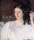 Cecilia Beaux : American figure painter