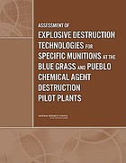 Assessment of explosive destruction technologies for specific munitions at the Blue Grass and Pueblo chemical agent destruction pilot plants