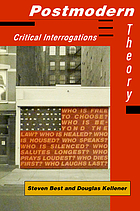 Postmodern theory : critical interrogations