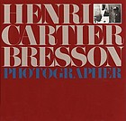 Henri Cartier Bresson, photographer.
