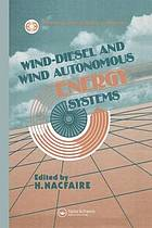 Autonomous and wind-diesel systems