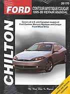 Chilton's Ford Contour/Mystique/Cougar : 1995-99 repair manual