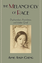 The melancholy of race : psychoanalysis, assimilation, and hidden grief