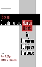 Sexual orientation & human rights in American religious discourse