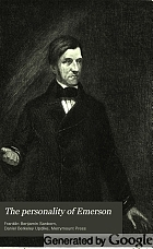 The personality of Emerson,