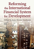 Reforming the international financial system for development