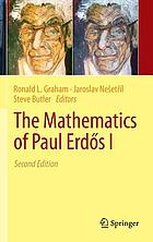 The mathematics of Paul Erdős I