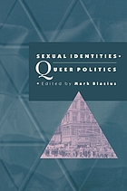 Sexual identities, queer politics