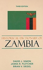 Historical dictionary of Zambia