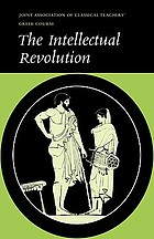 The Intellectual revolution : selections from Euripides, Thucydides, and Plato : text and running vocabulary.