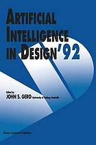 Artificial Intelligence in Design '92