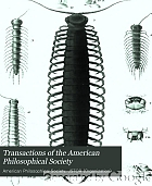 Transactions of the American Philosophical Society.