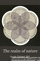 The realm of nature: an outline of physiography.