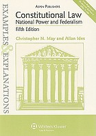 Constitutional law : national power and federalism