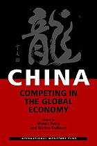 China, competing in the global economy