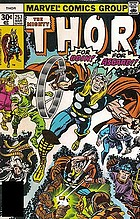 Thor. The death of Odin