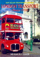 London transport since 1933