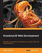 KnockoutJS Web Development.
