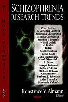 Schizophrenia research trends